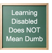 learning disabled children: