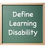 define learning disability