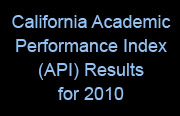 California Academic Performance Index (API) Results for 2010